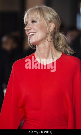 London, UK. 21st Nov, 2018. Joely Richardson attends the World Premiere of 'Surviving Christmas With The Relatives' at Vue West End. Credit: Gary Mitchell/SOPA Images/ZUMA Wire/Alamy Live News - Stock Photo