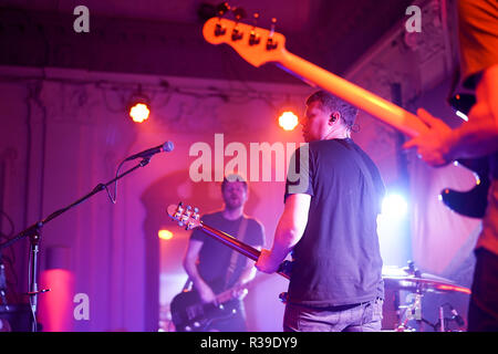 London, UK, 21 November 2018. We Were Promised Jetpacks performing live on stage at Bush Hall in London. Photo date: Wednesday, November 21, 2018. Photo: Roger Garfield/Alamy Live News - Stock Photo