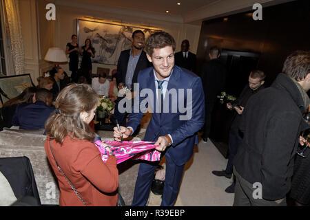 Paris, France. 21st Nov, 2018. Alexandre Flanquart attends the 2018 Gala Play International Dinner at Shangri-La Hotel on November 21, 2018 in Paris, France. Credit: Bernard Menigault/Alamy Live News - Stock Photo