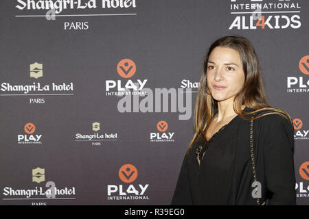 Paris, France. 21st Nov, 2018. Charlotte Lembach attend the 2018 Gala Play International Dinner at Shangri-La Hotel on November 21, 2018 in Paris, France. Credit: Bernard Menigault/Alamy Live News - Stock Photo