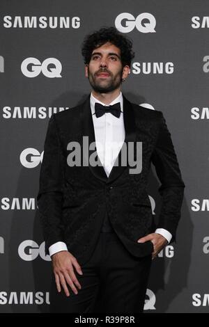 Photocall de los premios GQ Hombres del A–o 2018. (Photo: Jose Cuesta/261/Cordon Press).   Photocall of GQ Men of Year Award 2018 in Madrid on Thursday , 22 november 2018 - Stock Photo