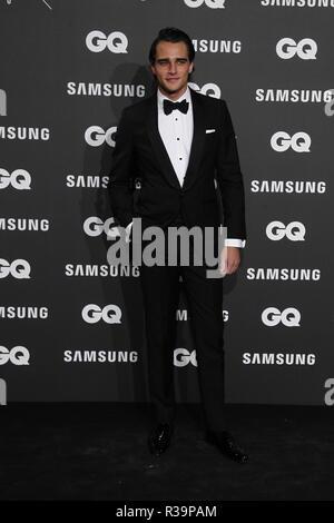 Photocall de los premios GQ Hombres del A–o 2018. (Photo: Jose Cuesta/261/Cordon Press). Pepe Barroso   Photocall of GQ Men of Year Award 2018 in Madrid on Thursday , 22 november 2018 - Stock Photo