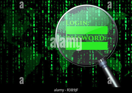 datat protection - Stock Photo