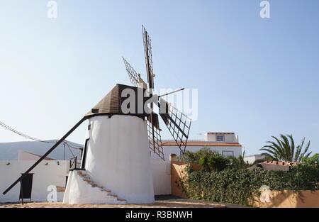 windmill of antigua - Stock Photo