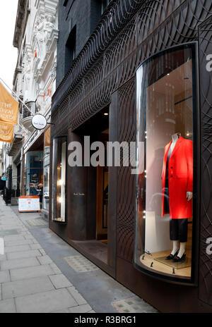 Paul Smith shop on Albermarle Street, Mayfair, London, UK - Stock Photo