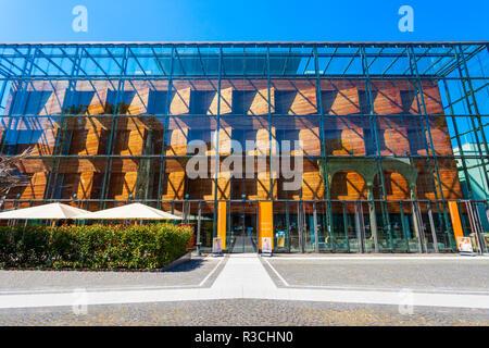 BONN, GERMANY - JUNE 29, 2018: Rheinisches Landesmuseum Bonn is a one of the oldest museum in Bonn, Germany