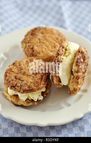 Ice cream sandwich - Stock Photo
