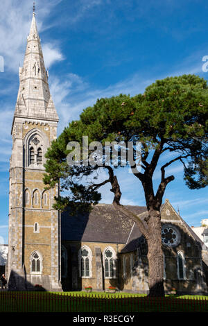 St.Mary's church Killarney also known as The Church of the Sloes which gives the name of the town in Irish as Cill Airne - Stock Photo