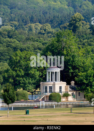 UK, England, Oxfordshire, Henley on Thames, Temple Island - Stock Photo