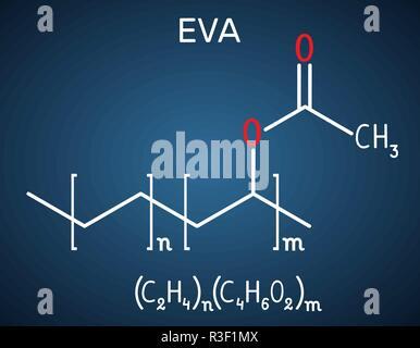 Ethylene Vinyl Acetate Eva Copolymer Chemical Structure