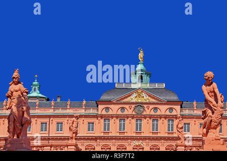baroque castle rastatt - Stock Photo