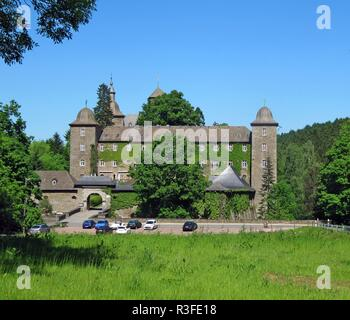 burg schnellenberg - Stock Photo