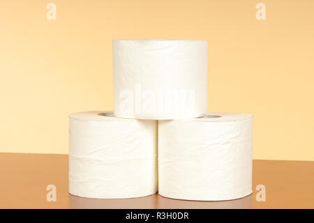 toilet paper / sanitary paper Stock Photo