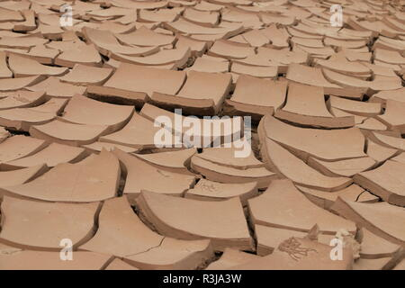 sound surface in the draâ valley morocco - Stock Photo