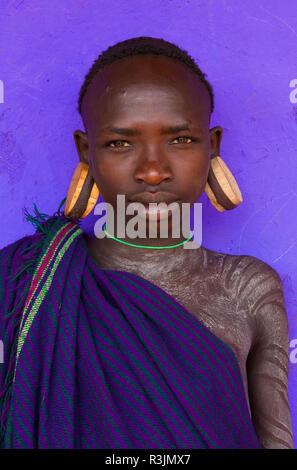 Ethiopian Tribe Boy Stock Photos & Ethiopian Tribe Boy