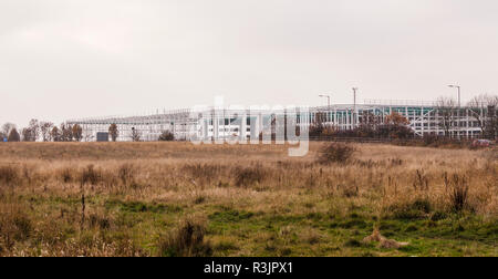 The new site for Amazon in Darlington, England,UK - Stock Photo