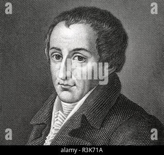 AUGUST von KOTZEBUE (1761-1819) German playwright and diplomat - Stock Photo