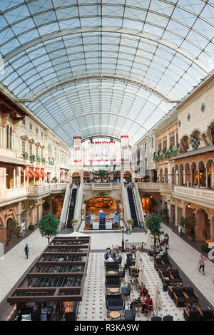 UAE, Dubai, Jumeirah. Mercato Mall interior - Stock Photo