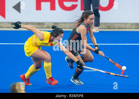 Changzhou, China 24 November 2018 Champions Trophy: Netherlands v China Ginella Zerbo of The Netherlands Credit: Orange Pictures vof/Alamy Live News - Stock Photo