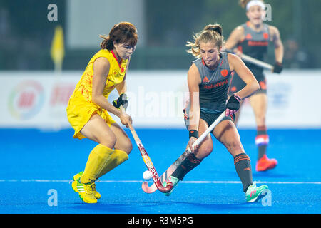 Changzhou, China 24 November 2018 Champions Trophy: Netherlands v China Xan de Waard of The Netherlands Credit: Orange Pictures vof/Alamy Live News - Stock Photo