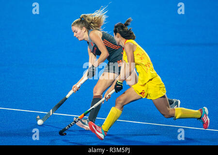 Changzhou, China 24 November 2018 Champions Trophy: Netherlands v China Maartje Krekelaar of The Netherlands Credit: Orange Pictures vof/Alamy Live News - Stock Photo