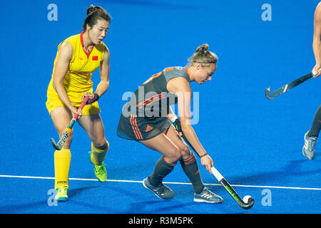 Changzhou, China 24 November 2018 Champions Trophy: Netherlands v China Marijn Veen of The Netherlands Credit: Orange Pictures vof/Alamy Live News - Stock Photo