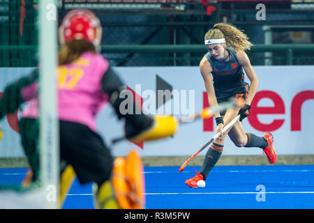 Changzhou, China 24 November 2018 Champions Trophy: Netherlands v China Yibbi Jansen of The Netherlands Credit: Orange Pictures vof/Alamy Live News - Stock Photo