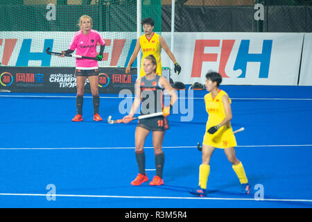 Changzhou, China 24 November 2018 Champions Trophy: Netherlands v China Lauren Stam of The Netherlands Credit: Orange Pictures vof/Alamy Live News - Stock Photo