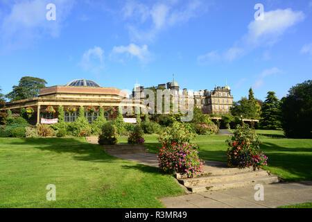 pavillion in valley gardens park harrogate yorkshire united kingdom