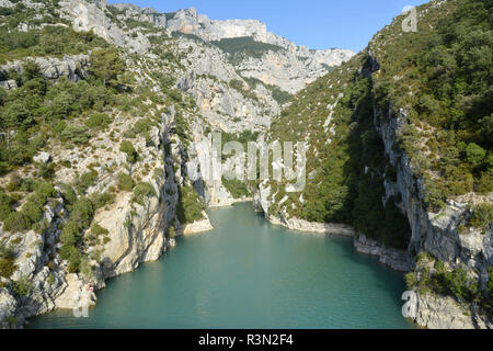 Sainte Croix Lake, Gorges du Verdon Natural Park, Alpes Haute Provence, France - Stock Photo