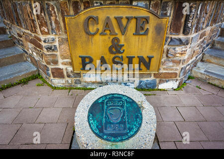 Cave and Basin National Historic Site, Banff National Park, Alberta, Canada - Stock Photo