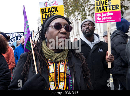 20th anniversary of the annual procession of  'United Families and Friends Campaign''. The UFFC is a coalition of people killed by police, in prisons, in immigration detention and detention and in secure psychiatric hospitals. - Stock Photo