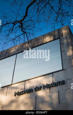 Austria, Salzburg, Museum der Moderne Monchsberg, modern art museum - Stock Photo