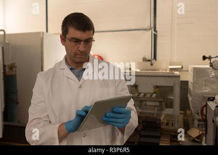 Robotics Engineer Using Digital Tablet Stock Photo 226067179 Alamy