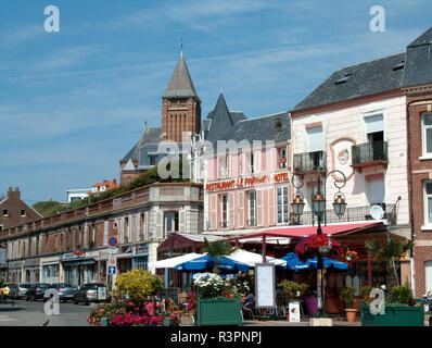 Mers les Bains, Picardy, France - Stock Photo
