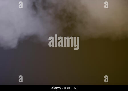 Colored background with smoke similar to clouds - Stock Photo