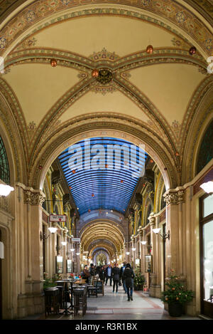 Austria, Vienna, Palais Ferstel shopping arcade interior (Editorial Use Only) - Stock Photo