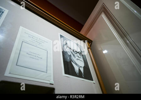 Austria, Vienna, Sigmund Freud Museum interior (Editorial Use Only) - Stock Photo