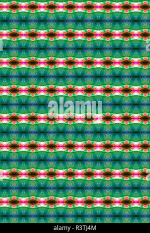 A Southwestern themed repeating abstract pattern. - Stock Photo