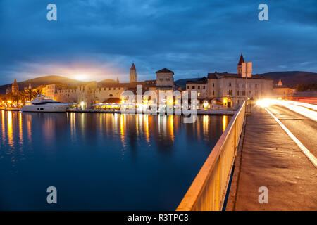 Old coastal town Trogir in Croatia