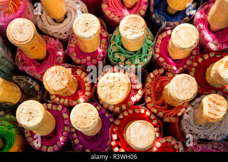 USA, Arizona, Phoenix. Close-up of ends of folded Chinese parasols. Credit as: Wendy Kaveney / Jaynes Gallery / DanitaDelimont.com - Stock Photo