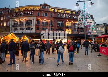Christmas Markets In Dorset 2021 Bournemouth Christmas Market At Bournemouth Square Bournemouth Dorset Uk Stock Photo Alamy