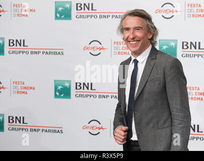 13th Rome Film Fest - 'Stan & Ollie' - Photocall  Featuring: Steve Coogan Where: Rome, Italy When: 24 Oct 2018 Credit: IPA/WENN.com  **Only available for publication in UK, USA, Germany, Austria, Switzerland** - Stock Photo