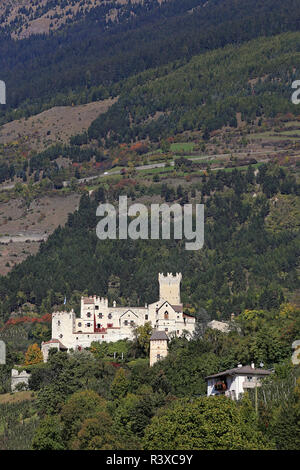 coira castel coira or in schlunders in south tyrol - Stock Photo