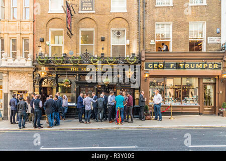 A typical view in London - Stock Photo