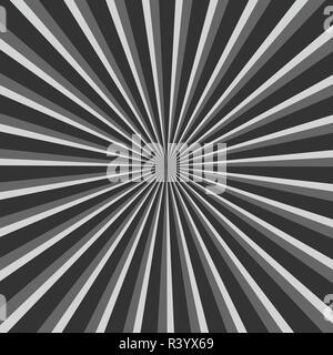 Vector illustration Sunburst background starburst - Stock Photo