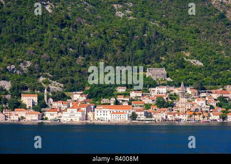 Perast, Kotor Bay, Montenegro - Stock Photo
