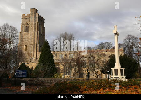 St Gregory's Church, Gregory Street, Sudbury, Babergh district, Suffolk, East Anglia, England, Great Britain, United Kingdom, UK, Europe - Stock Photo