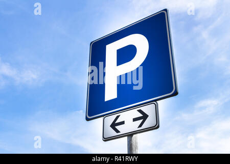 Parking signal - Stock Photo