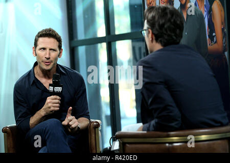 NEW YORK, NY - SEPTEMBER 28:  Build presents Mark Feuerstein discussing the show '9JKL' at Build Studio on September 28, 2017 in New York City.  (Photo by Steve Mack/S.D. Mack Pictures) - Stock Photo